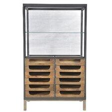 Durham Teak/Iron 12 Drawer Counter/Showcase by BIDKhome