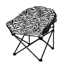 Urban Shop Zebra Lounge Chair by Idea Nuova