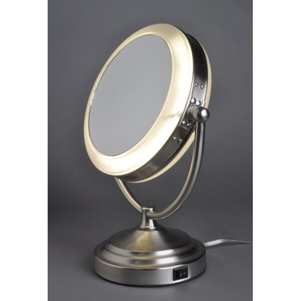 . Floxite 8x 1x Lighted Vanity Mirror   Reviews   Wayfair