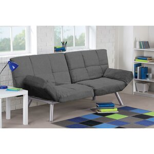 Cassandra Convertible Sofa by Varick Gallery