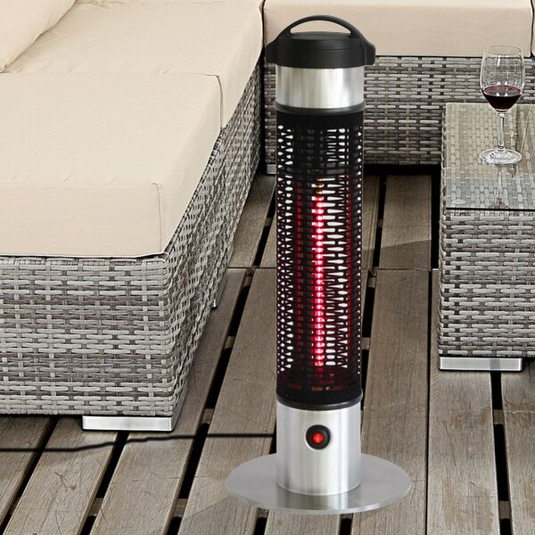 EnerG+ 1000 Watt Electric Patio Heater U0026 Reviews | Wayfair