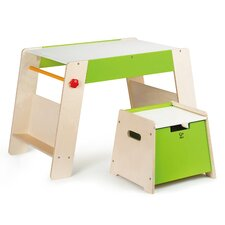 Early Explorer 2 Piece Play Station & Stool Set