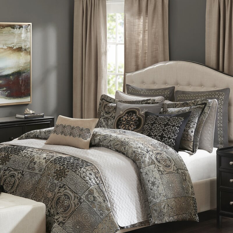 madison park signature dream catcher comforter set & reviews | wayfair