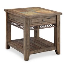 Devere Rectangle End Table by World Menagerie