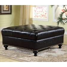 Providence Leather Ottoman by Darby Home Co