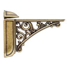 Viola Adjustable Decorative Shelf Bracket by Bosetti-Marella