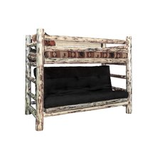 Abordale Twin over Full Futon Bunk Bed by Loon Peak