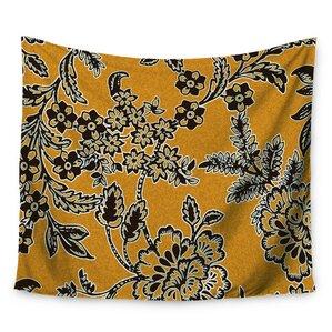 Golden Blossom By Vikki Salmela Wall Tapestry