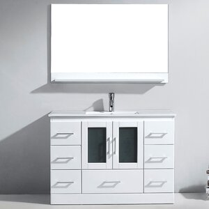 Bathroom vanities you 39 ll love - Applebaum 24 single bathroom vanity set ...