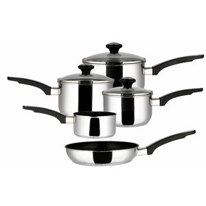 5 Piece Stainless Steel Cookware Set