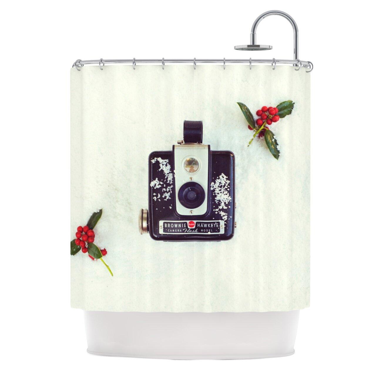 Winter shower curtain - The Four Seasons Winter Shower Curtain