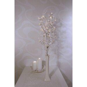 Illuminated Rose Twig 32 Light Lamp