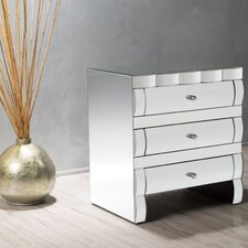 Memphis 3 Drawer Cabinet by Home Loft Concepts