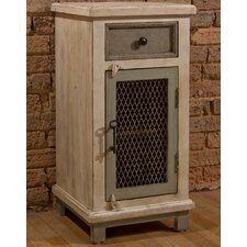 Union Point Cabinet with Chicken Wire Door by August Grove