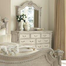 Schwerin 9 Drawer Dresser with Mirror by Astoria Grand