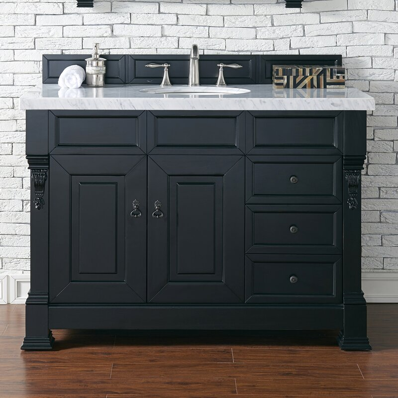 "james martin furniture brookfield 48"" single bathroom vanity base"