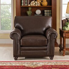Coventry Top Grain Leather Club Chair by Westland and Birch