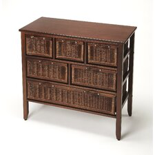 Waltham Rattan 6 Drawer Accent Chest by Bay Isle Home