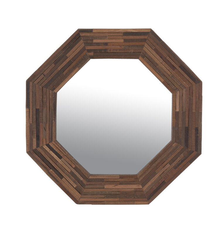 Wayfair Wall Mirrors jeffan rosario accent wall mirror & reviews | wayfair