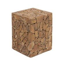 Mozaik Stool by Woodland Imports