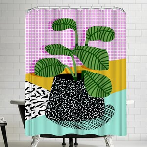 Wacka Designs Decent Shower Curtain East Urban Home