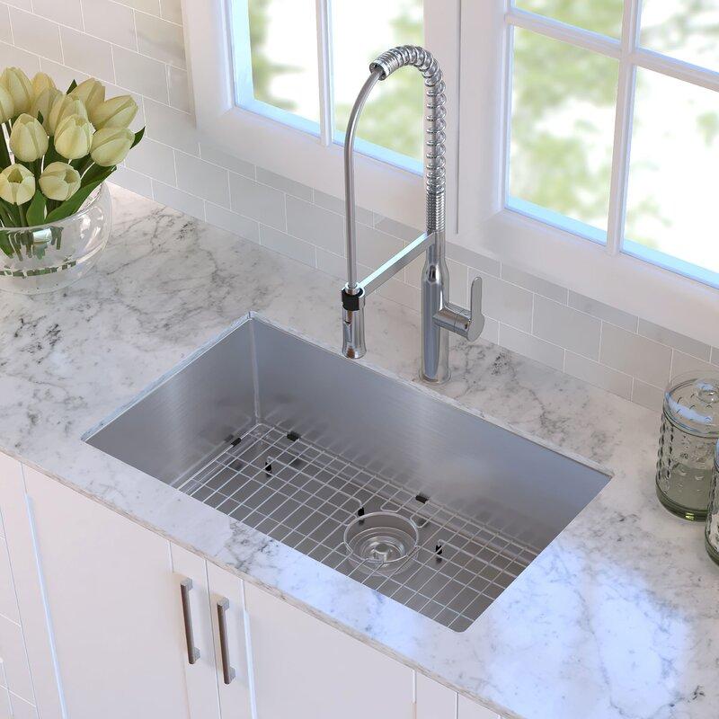 Kraus 30 X 18 Undermount Kitchen Sink Reviews Wayfair