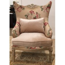 Versailles Wingback Chair by Benetti's Italia