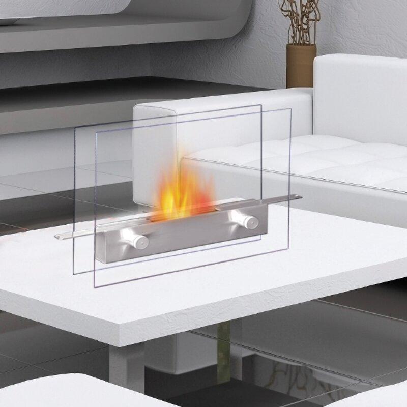Anywhere Fireplace Metropolitan Bio Ethanol Tabletop Fireplace