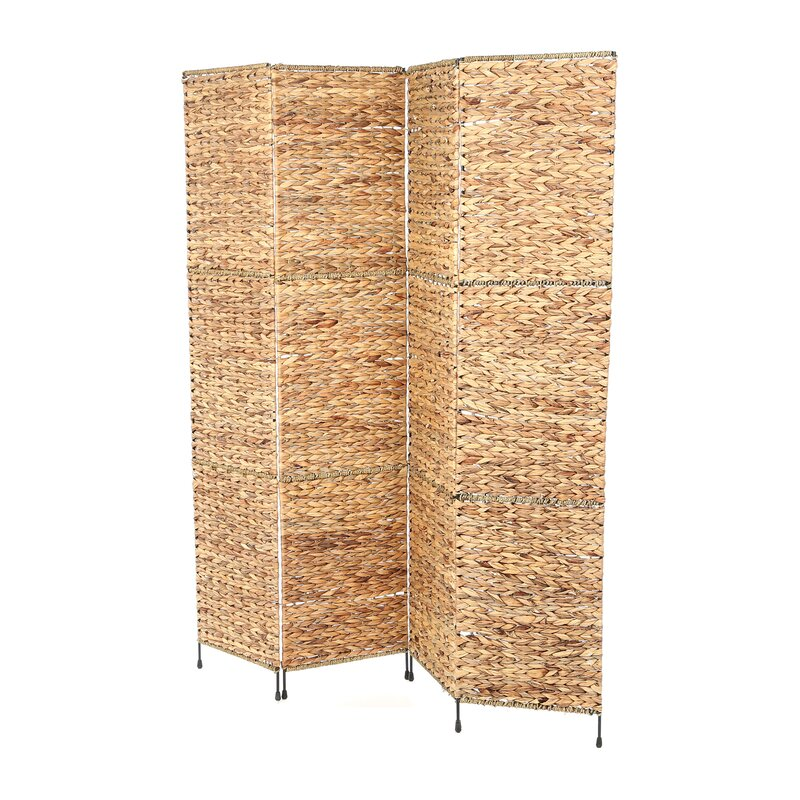 Castine 67 X 60 Folding Screen 4 Panel Room Divider