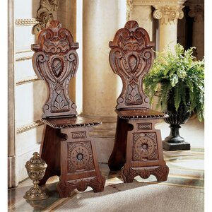 Demedici Palace Renaissance Side Chair (Set of 2) by Design Toscano