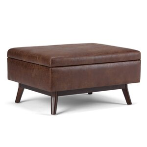 Owen Coffee Table Ottoman with Storage by Simpli Home