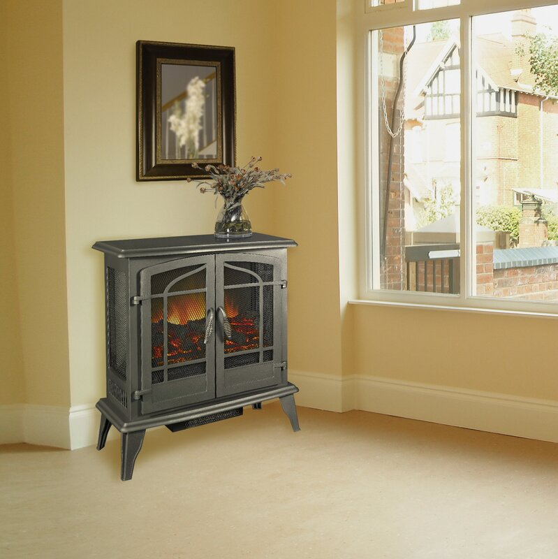 default_name - Pleasant Hearth 400 Sq. Ft. Vent Free Electric Stove & Reviews