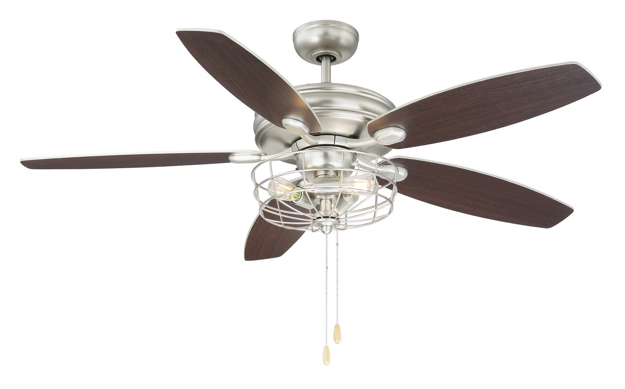Industrial Style Ceiling Fans Youll Love Wayfair