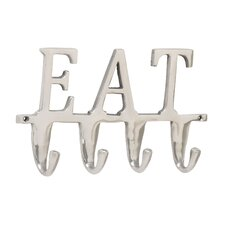 Eat Wall Hook by Woodland Imports