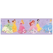 "Room Mates Deco Dancing Princess 15' x 9"" Border Wallpaper"
