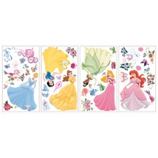 37 Piece Disney Princess Wall Decal Set