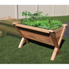 Modular 3 ft x 4 ft Cedar Raised Garden