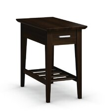 Currents Collection Chairside Table With Drawer by Caravel
