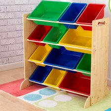 Sort It and Store It 4 Compartment Cubby