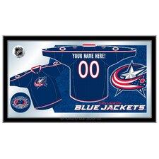 NHL Jersey Mirror Framed Graphic Art