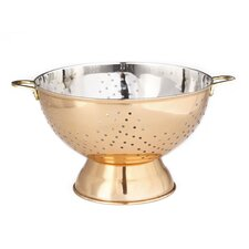 Décor Footed Stainless Steel Colander