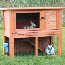 Animal Hutch with Sloped Roof