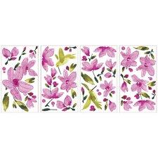 Deco Flowering Vine Wall Decal