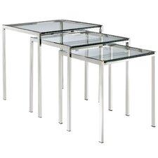Nimble 3 Piece Nesting Table Set by Modway