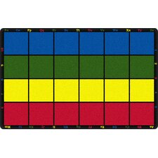 Learning Grid Kids Area Rug