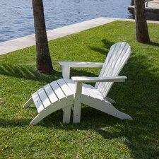 South Beach Adirondack 2 Piece Chair Set