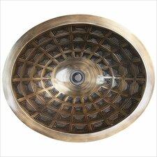 Pantheon Oval Vessel Bathroom Sink by Linkasink