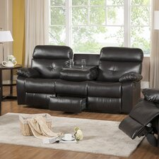 Roquette Leather Reclining Sofa