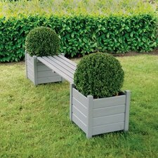 Planters Wooden Planter bench