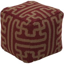 Copeland Pouf Ottoman by Union Rustic